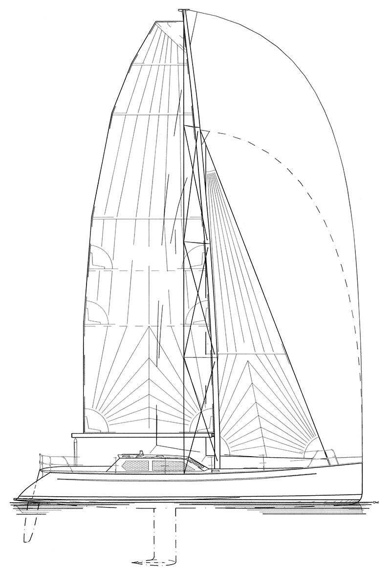 bagatelle-sailplan