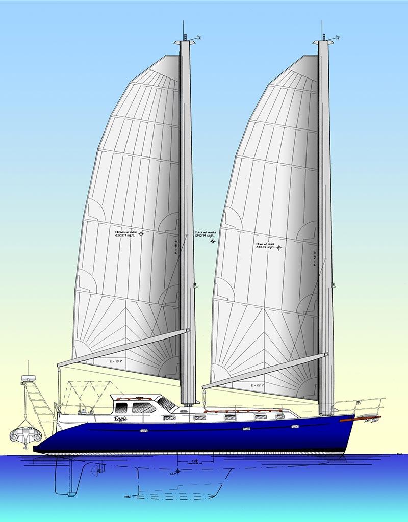 eagle-sail-plan